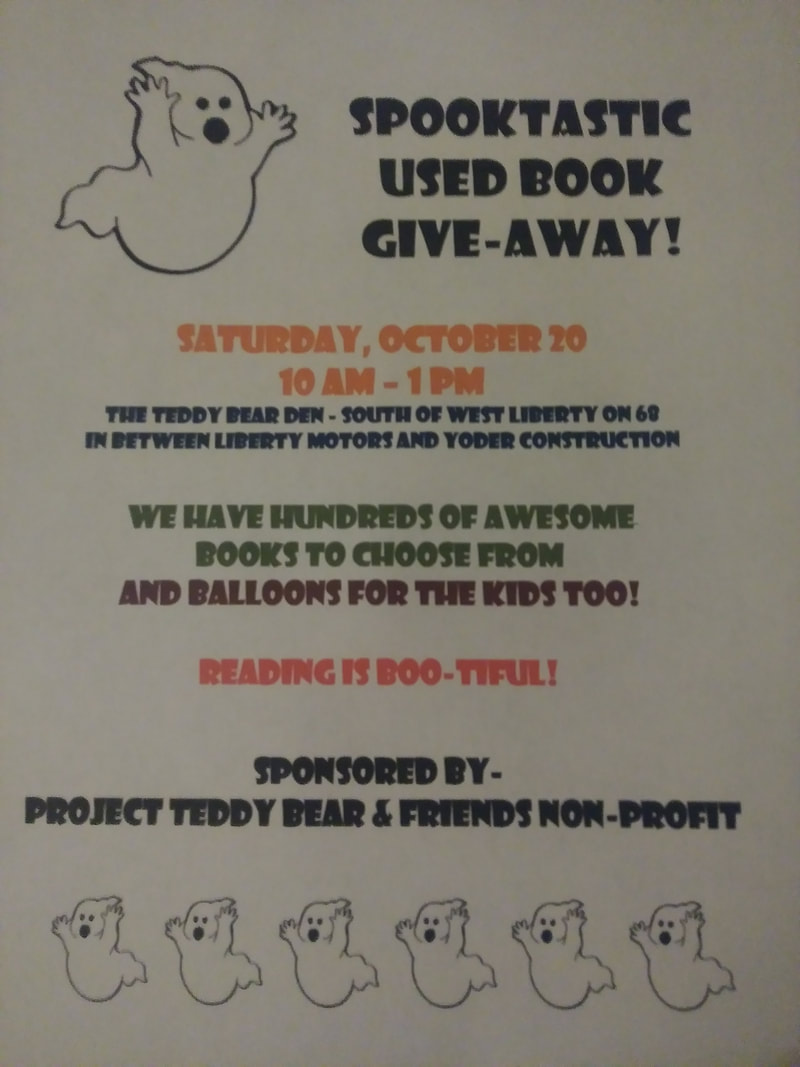 Project Teddy Bear Used Book Giveaway