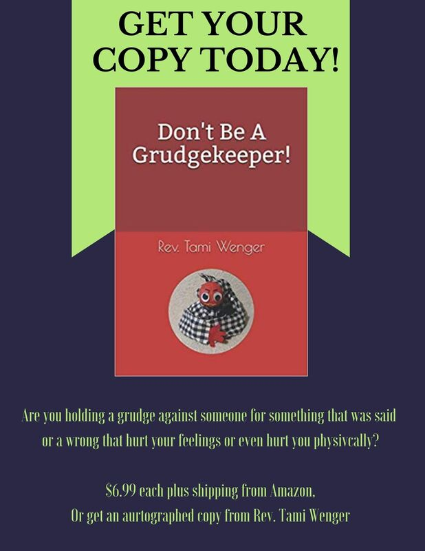 Don't be a Grudge Keeper book