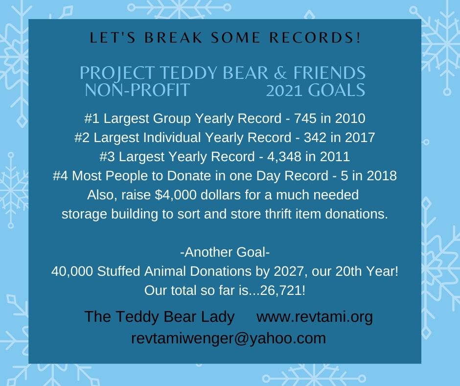 Project Teddy Bear & Friends Records